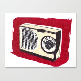 Radio I Canvas Print