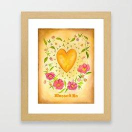 Blessed Be Framed Art Print