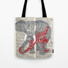 Roll Tide (Alabama Elephant) Tote Bag