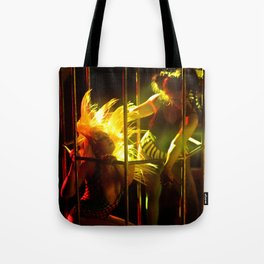 Sexy Cage Dancer Tote Bag
