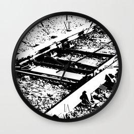 Railway Lines Wall Clock