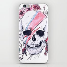 Bowie Skull iPhone Skin
