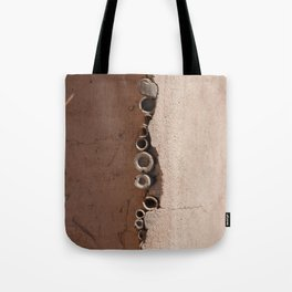 rotated rustic roof Tote Bag