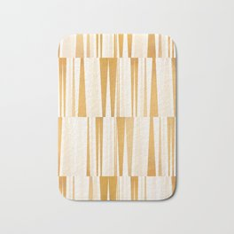 BEACHING PATTERN GOLD Bath Mat