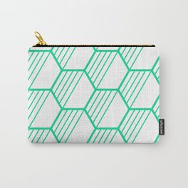 LYLA ((emerald green)) Carry-All Pouch