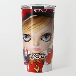 Erregiro Blythe Custom Doll Twiggy Travel Mug