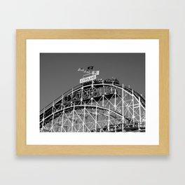 Cyclone Framed Art Print