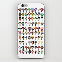 THE ULTIMATE 'AVENGER'S' ROBOTIC COLLECTION iPhone Skin