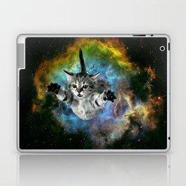 Galaxy Cat Universe Kitten Launch                                                 Laptop & iPad Skin