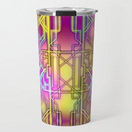 Neon Deco Travel Mug