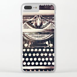aging gracefully Clear iPhone Case