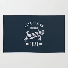 Imagine is Real - Motivation Rug