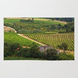 landscape in southern france 2 Rug