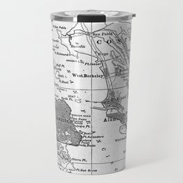 Vintage Map of San Francisco California (1905) Travel Mug
