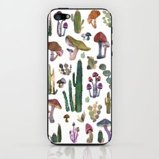 Cactus and Mushrooms NEW!!! iPhone & iPod Skin