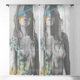 To The Marrow Sheer Curtain
