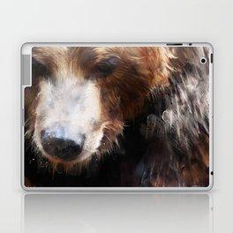 Bear // Gold Laptop & iPad Skin