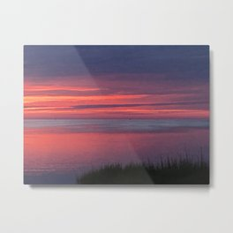 Dusk in the outer banks Metal Print