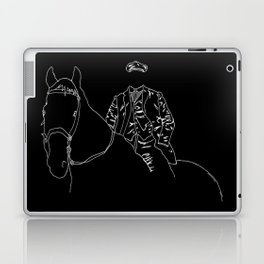 Horse and Fashion Noir Laptop & iPad Skin