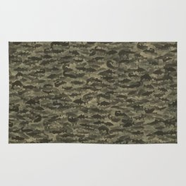 Fresh water fish camouflage Rug