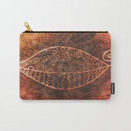ReLeaf Doodle Burnt Carry-All Pouch