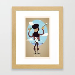 Pirati! Framed Art Print