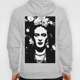 Black 'n white Frida Hoody