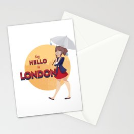 Say Hello to London Stationery Cards