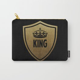 King & Queen (For Him & For Her) Carry-All Pouch