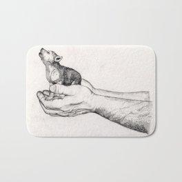 Wolf Cub // Graphite Bath Mat