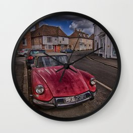 Citroens In Charing Wall Clock