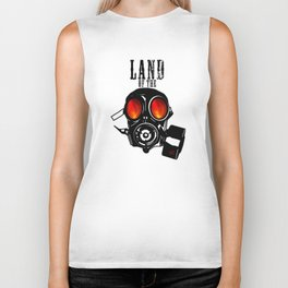 Land of the Gas Mask Biker Tank