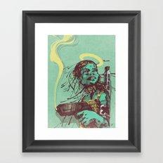 Guard II. Framed Art Print