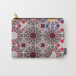 Arabian abstract pattern Carry-All Pouch