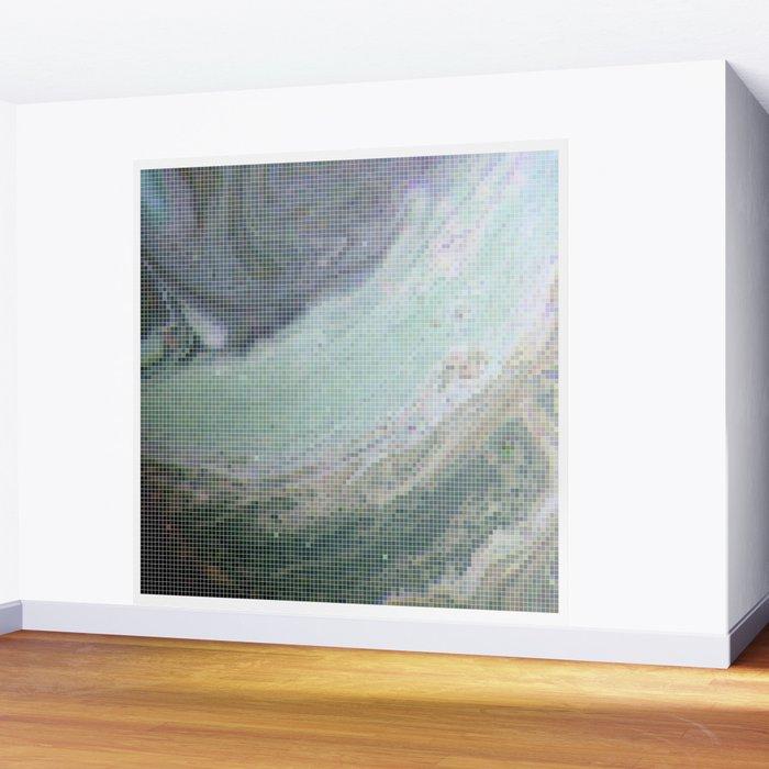 Saturn Infrared Wall Mural