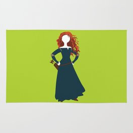 Merida from the Brave Rug