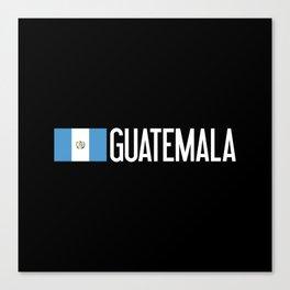 Guatemalan Flag & Guatemala Canvas Print