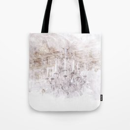 Palace Chandelier 1 Tote Bag