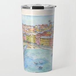 Vernazza, Cinque Terre, Italy Travel Mug