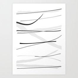 Line 2 Art Print