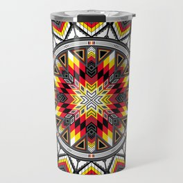 Sacred Places Red Travel Mug
