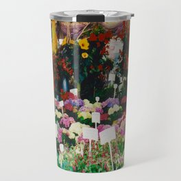Flower shop in Munich #1 Travel Mug