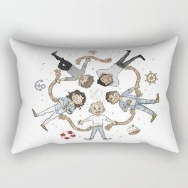 Ring of cutes Rectangular Pillow