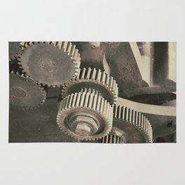 Railroad Construction Rug