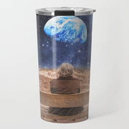 PLANET EARTH, THE UNIVERSE AND I Travel Mug