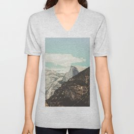 Half Dome Peek Unisex V-Neck