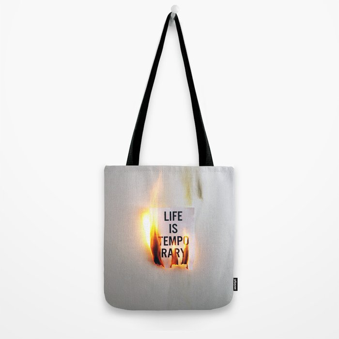 Temporary Tote Bag