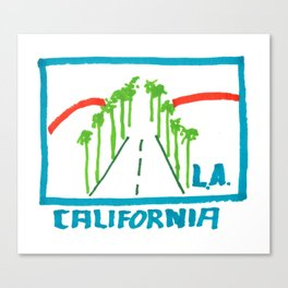 Los Angeles - California Canvas Print