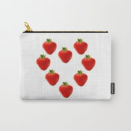 strawberry heart Carry-All Pouch