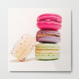 Macarons No.1 Metal Print
